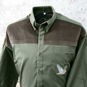 Hunting & Outdoor Olive Shirt Woodcock